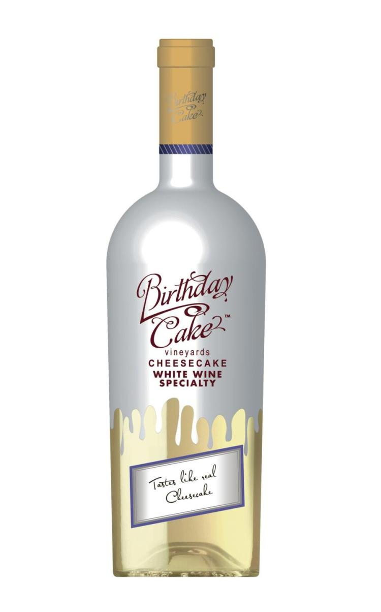 Birthday Cake Cheesecake White Wine Grand Plaza Liquors