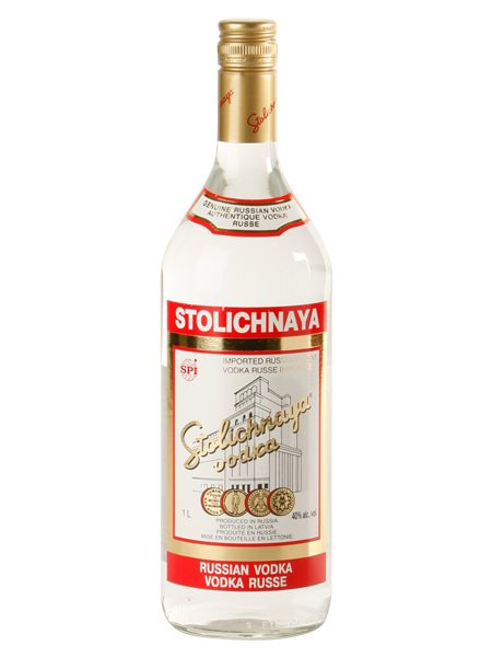 Stolichnaya Russian Vodka 80 1l