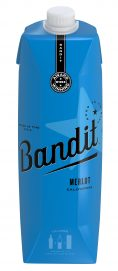 Bandit Merlot 1l Hi Res Bottle Shot